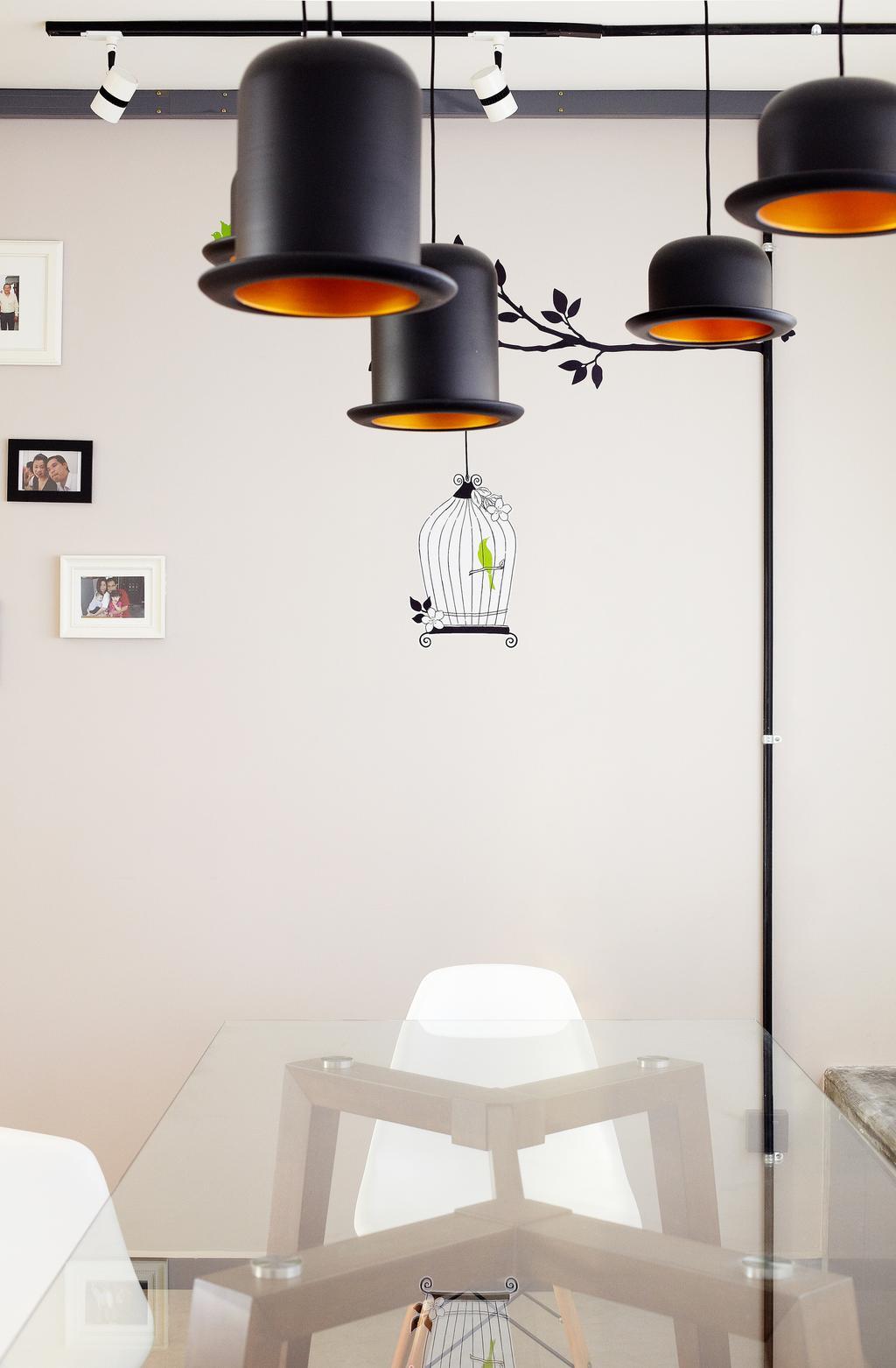 Industrial, HDB, Dining Room, Jalan Rajah, Interior Designer, Free Space Intent, Plate Rack