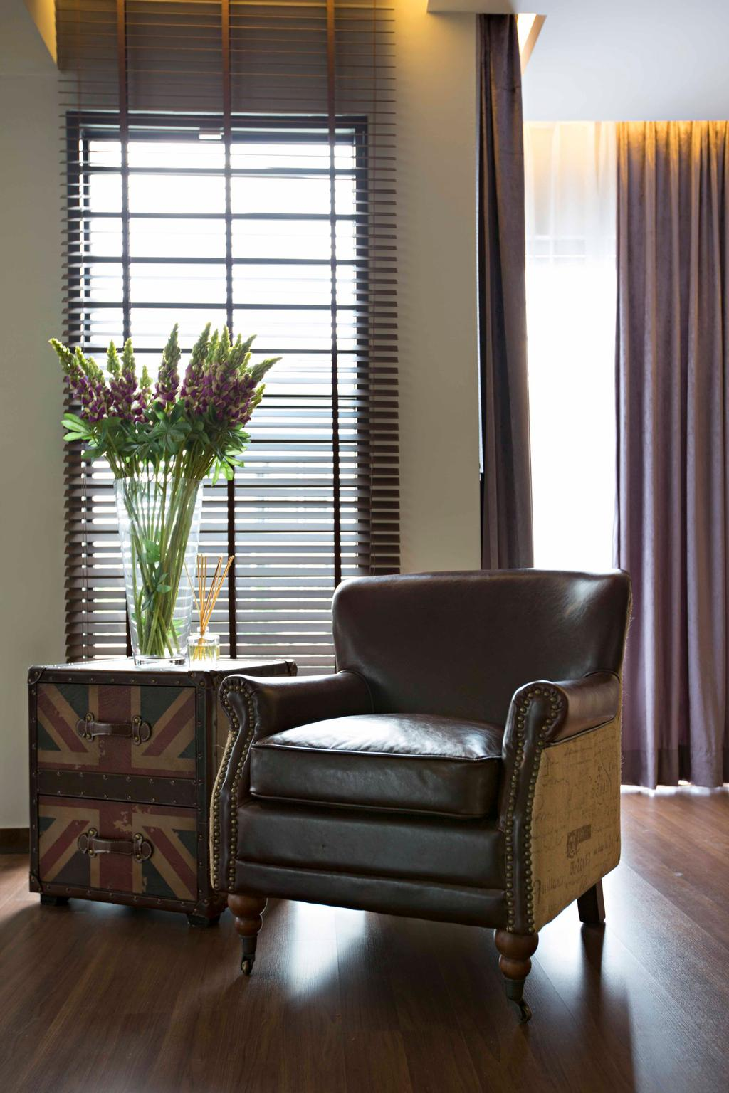 Modern, Landed, Living Room, CC Lake Fields Residence, Interior Designer, Turn Design Interior, Flora, Jar, Plant, Potted Plant, Pottery, Vase, Chair, Furniture, Couch, Boot, Clothing, Cowboy Boot, Footwear, Riding Boot, Shoe