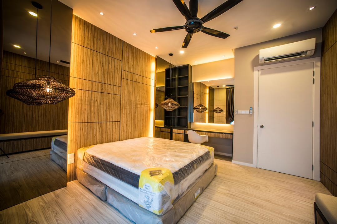 Sunway Montana, IQI Concept Interior Design & Renovation, Landed, Butter, Food, Bed, Furniture