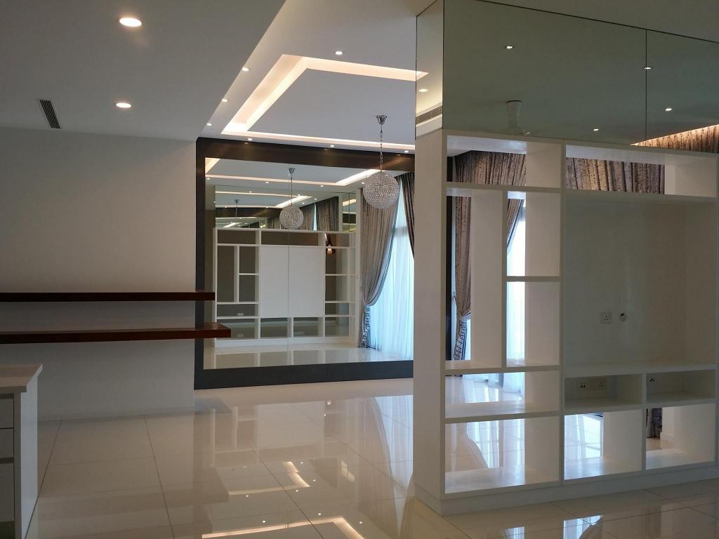 Modern, Condo, Tropicana Grande, Interior Designer, IQI Concept Interior Design & Renovation, Minimalistic, Curtain, Home Decor, Window