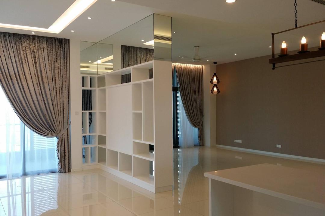 Tropicana Grande, IQI Concept Interior Design & Renovation, Modern, Minimalistic, Condo, Light Fixture, Indoors, Interior Design, Candle
