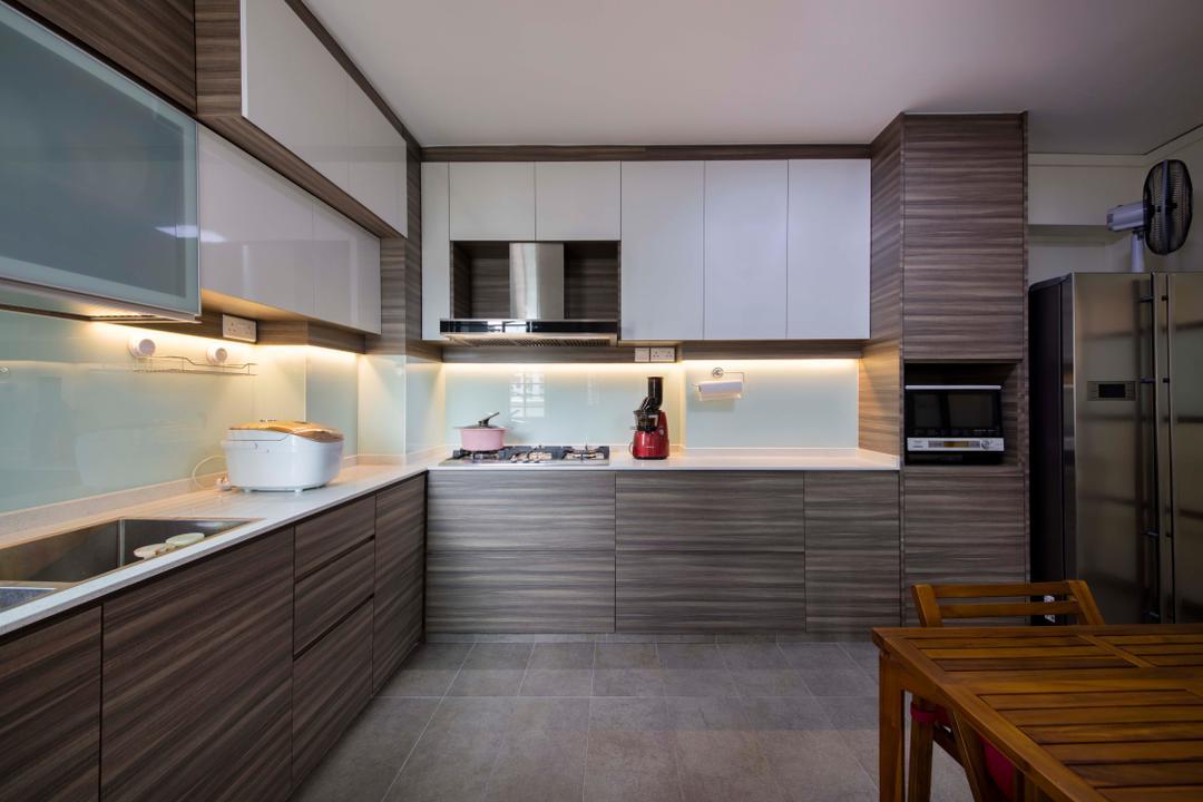 L Shaped Kitchen Interior Design Singapore Interior Design Ideas