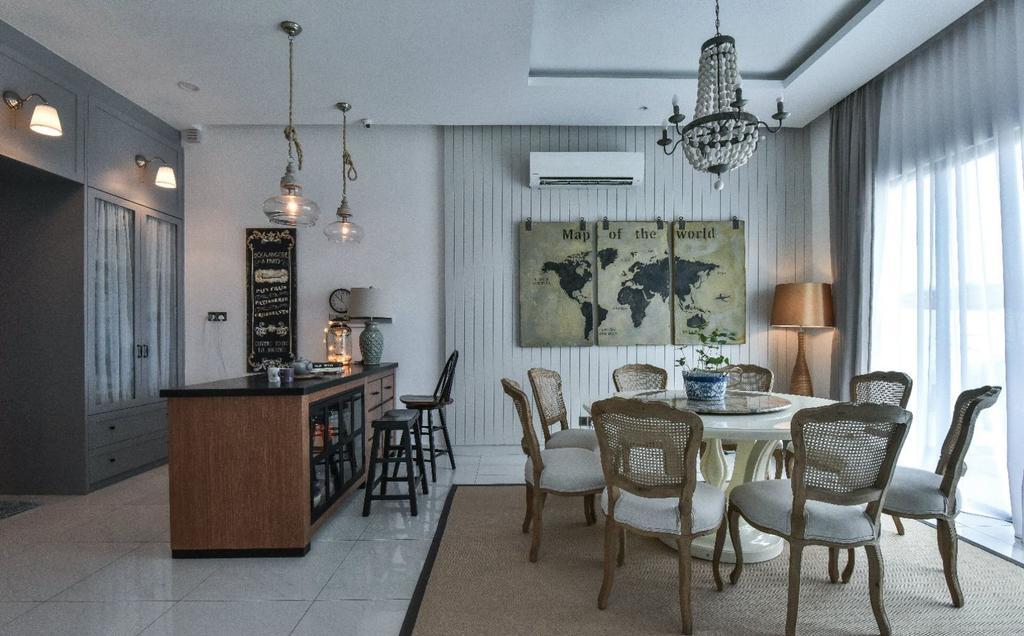 Modern, Landed, Dining Room, 16 Sierra, Akira, Interior Designer, M innovative Builders, Chair, Furniture, Indoors, Interior Design, Room, Dining Table, Table