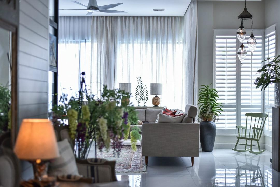 16 Sierra, Akira, M innovative Builders, Modern, Living Room, Landed, Flora, Jar, Plant, Potted Plant, Pottery, Vase, Bonsai, Tree