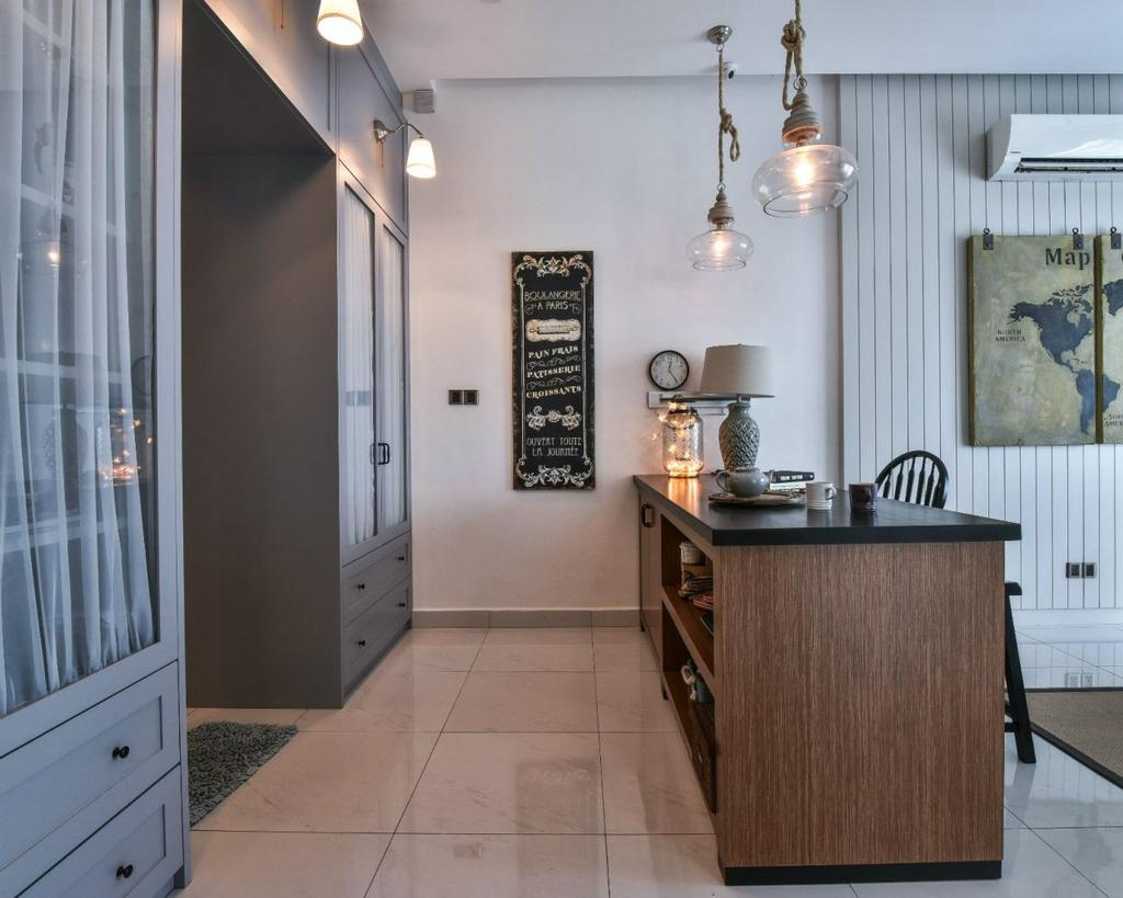 Modern, Landed, Dining Room, 16 Sierra, Akira, Interior Designer, M innovative Builders, Bench