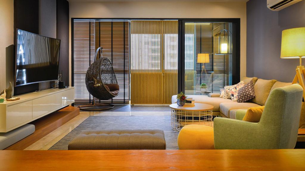 Contemporary, Condo, Concerto, North Kiara, Interior Designer, Dot Works, Minimalistic, Transitional, Couch, Furniture