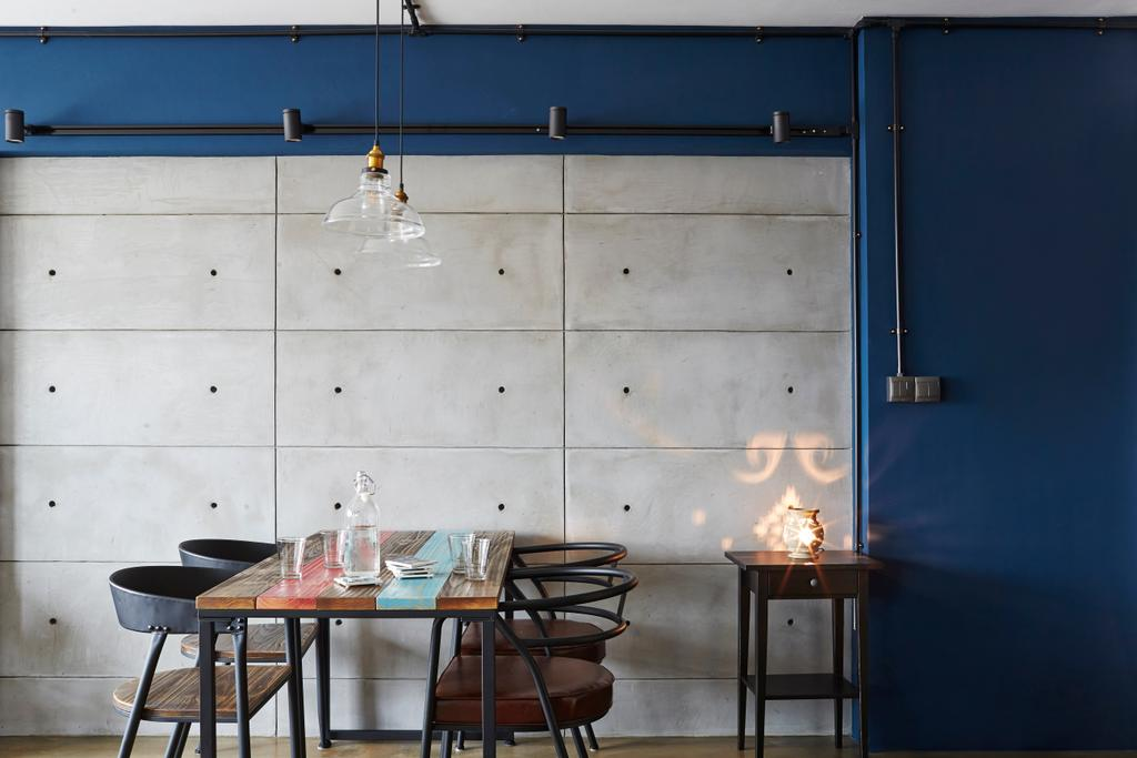 Eclectic, HDB, Dining Room, Bendemeer Road, Interior Designer, Fuse Concept, Dining Table, Furniture, Table, Chair, Indoors, Interior Design, Room