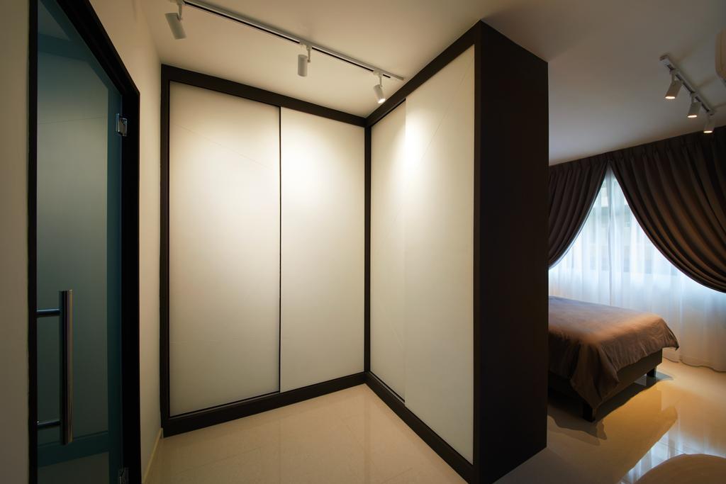 Modern, HDB, Bedroom, Hougang Meadows, Interior Designer, The Local INN.terior 新家室, Scandinavian, Indoors, Interior Design, Corridor, Room