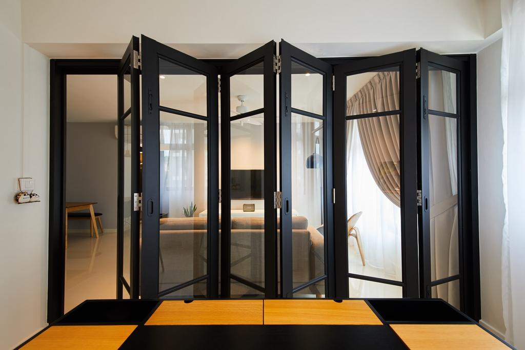 Modern, HDB, Study, Hougang Meadows, Interior Designer, The Local INN.terior 新家室, Scandinavian, Indoors, Interior Design