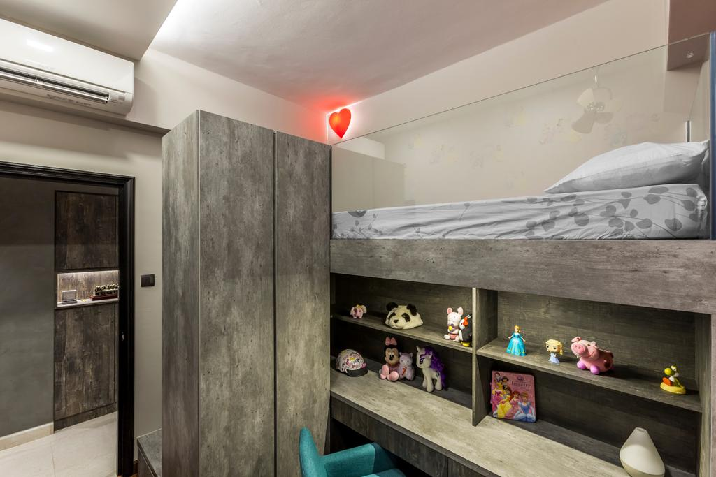 Modern, Condo, Bedroom, Thomson 800, Interior Designer, Rhiss Interior