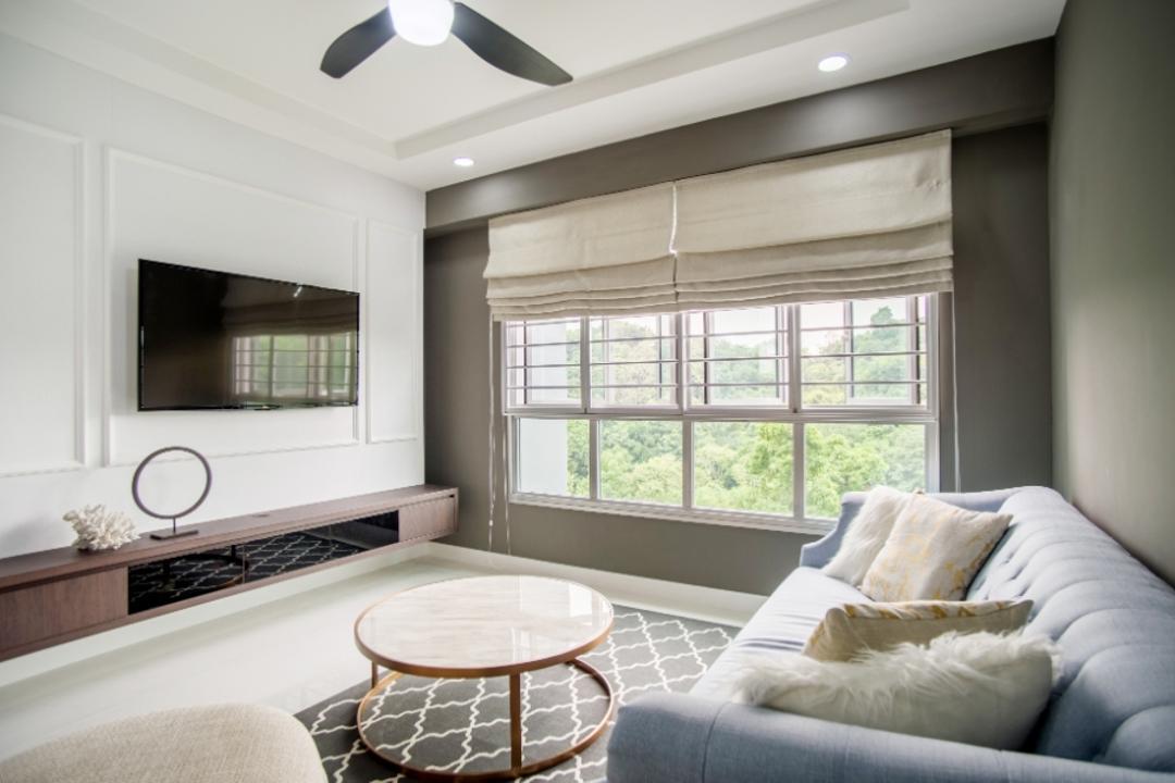 Telok Blangah Heights (Block 70A) Living Room Interior Design 2