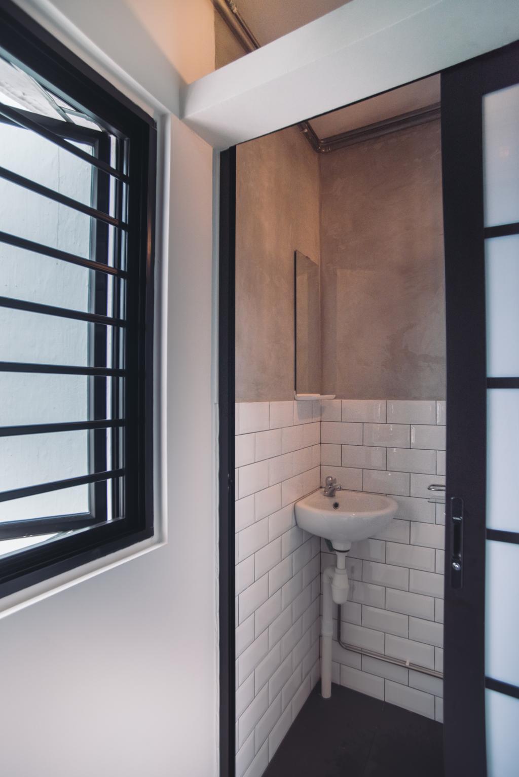 Modern, HDB, Bathroom, Clementi Street 13, Interior Designer, Urban Habitat Design, Indoors, Interior Design, Room