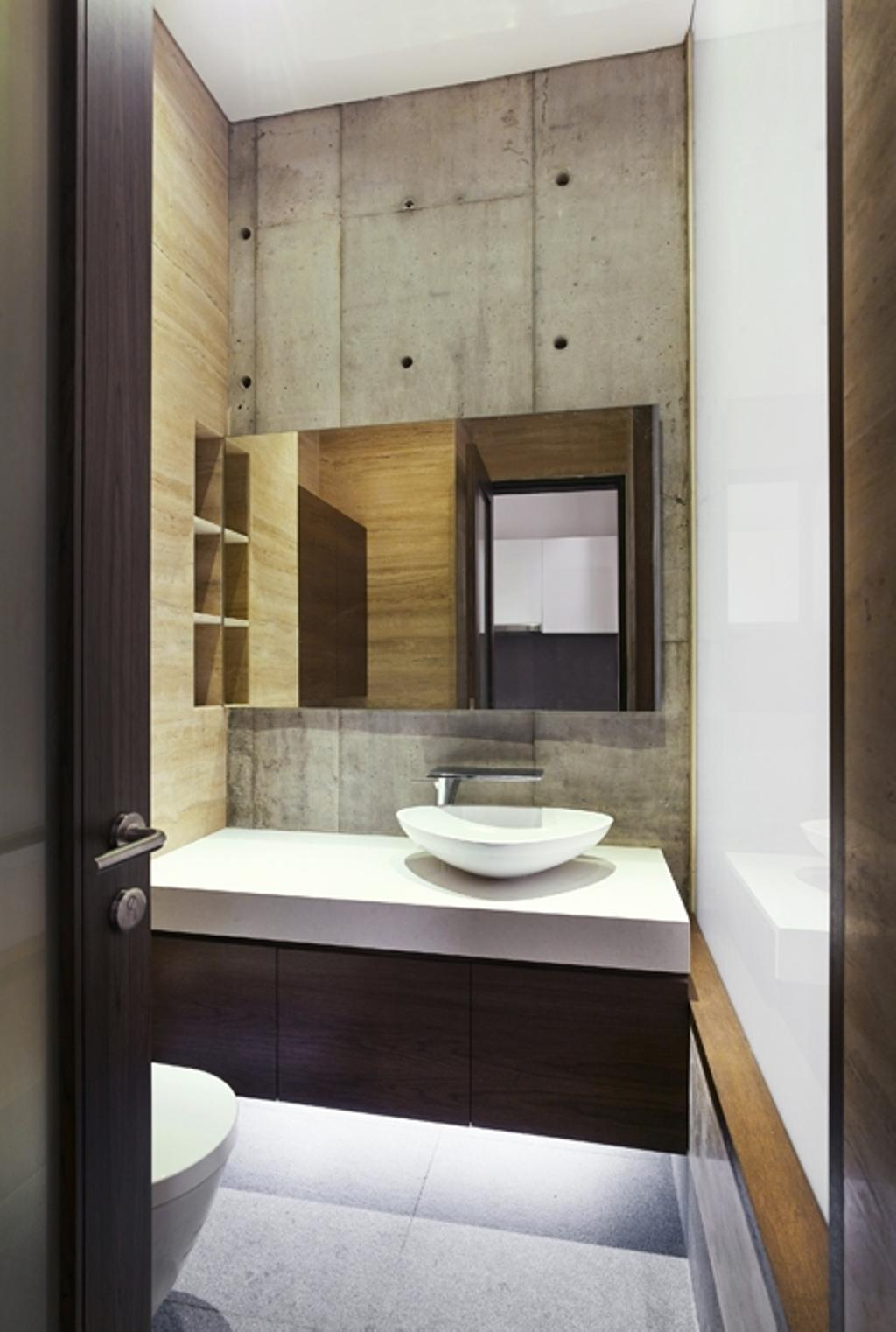 Modern, Landed, 25 CWC, Architect, BHATCH Architects, Bathroom, Indoors, Interior Design, Room