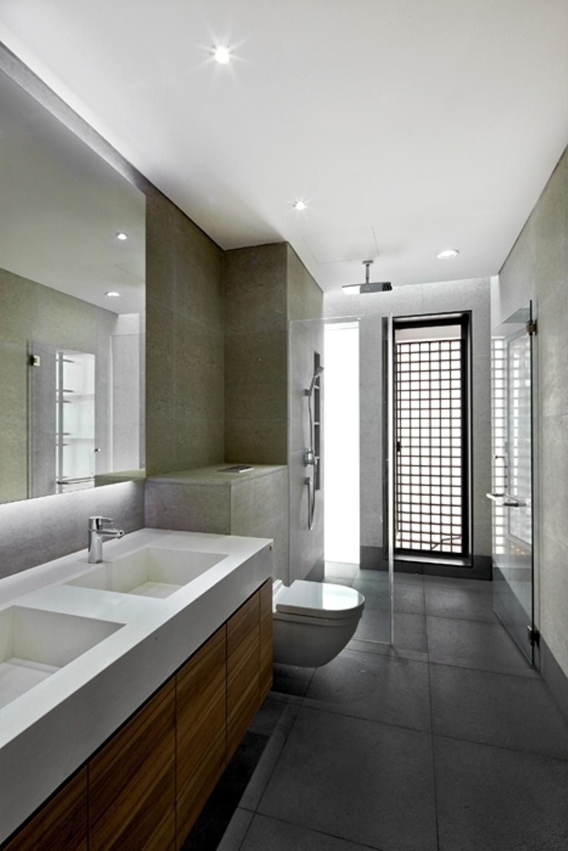 Modern, Landed, 25 CWC, Architect, BHATCH Architects, Bathroom, Indoors, Interior Design, Room, Sink