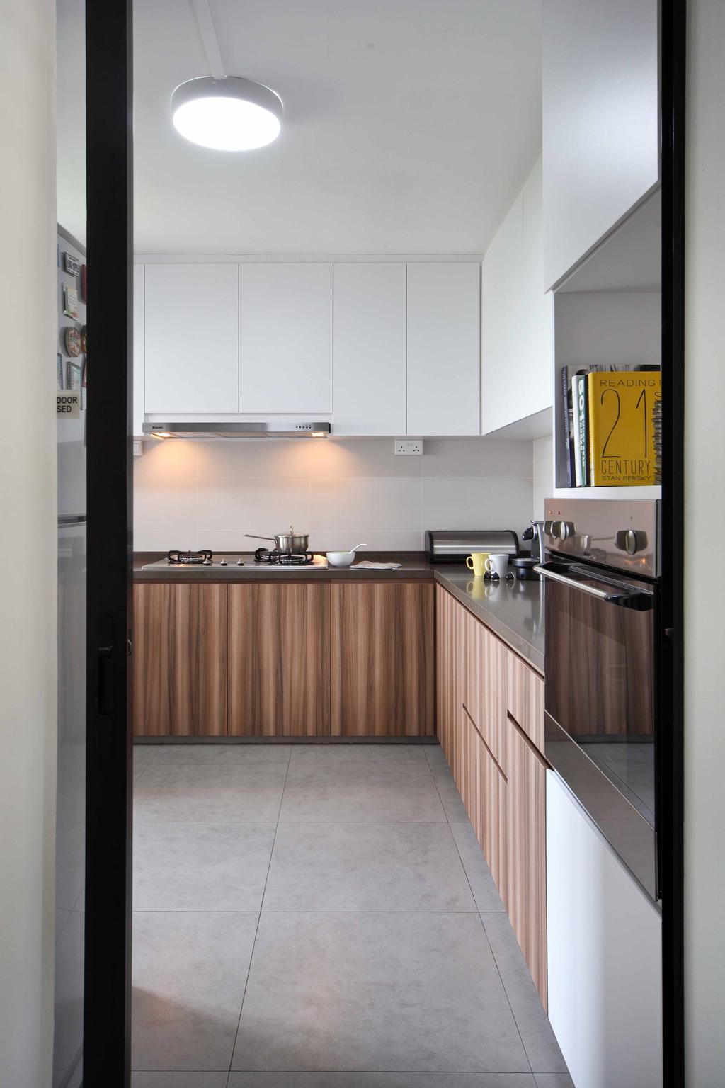 Modern, HDB, Kitchen, Jurong West Street 42 (Block 407), Interior Designer, Space Concepts Design, Appliance, Electrical Device, Oven, Indoors, Interior Design, Room