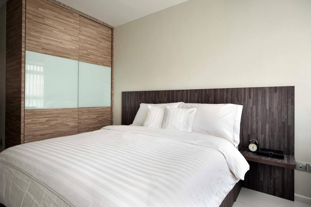 Modern, HDB, Bedroom, Compassvale Link (Block 275A), Interior Designer, Space Concepts Design, Bed, Furniture