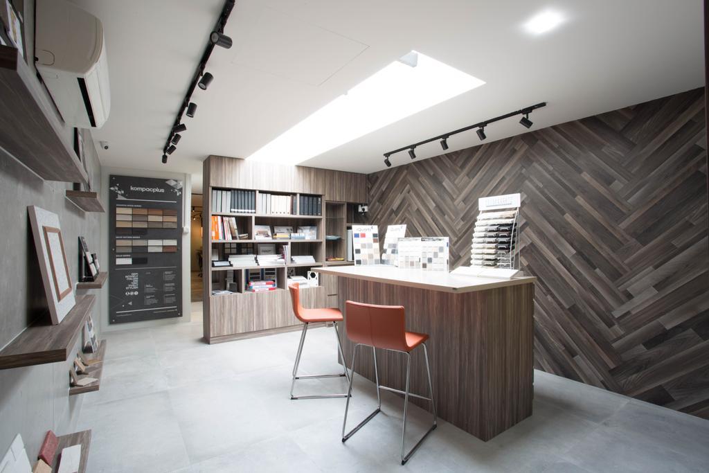 Summit Design Showroom, Commercial, Interior Designer, Summit Design Studio, Scandinavian, Industrial, Shelf, Chair, Furniture