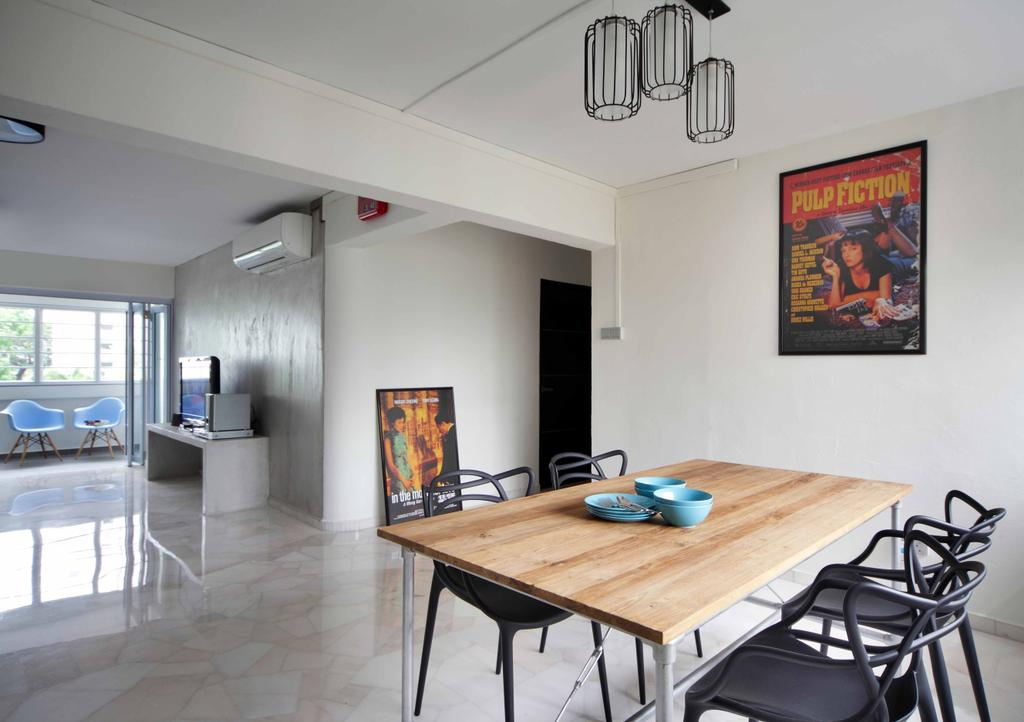 Transitional, HDB, Dining Room, Tampines Street 21 (Block 254), Interior Designer, Space Concepts Design, Dining Table, Furniture, Table, Indoors, Interior Design, Room, Chair, Poster