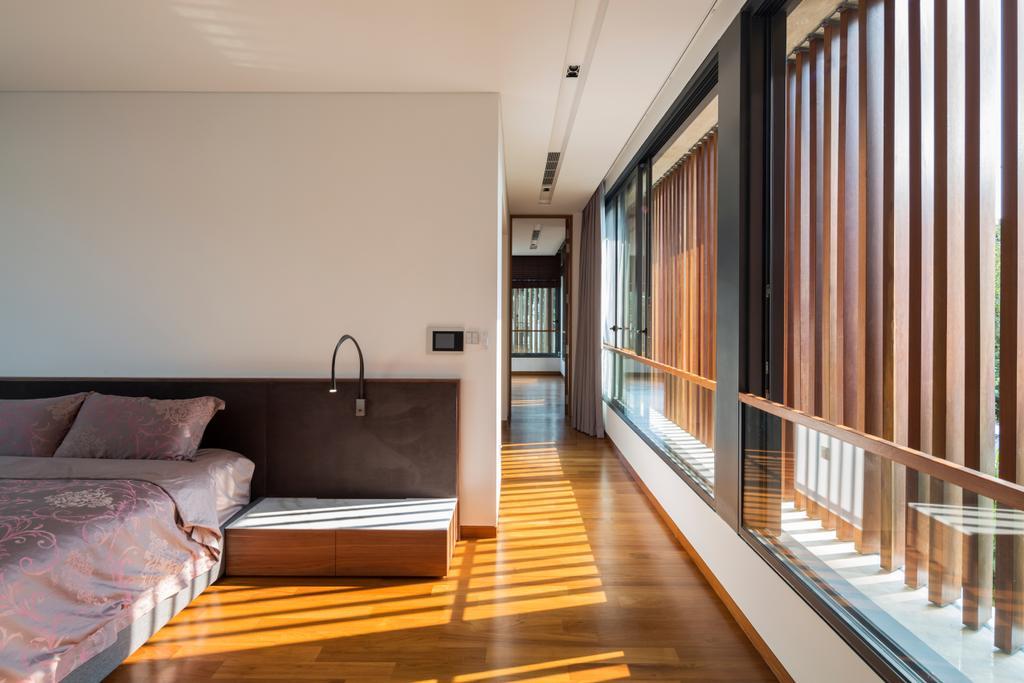 Contemporary, Landed, Bedroom, Secret Garden House (Bukit Timah), Architect, Wallflower Architecture + Design