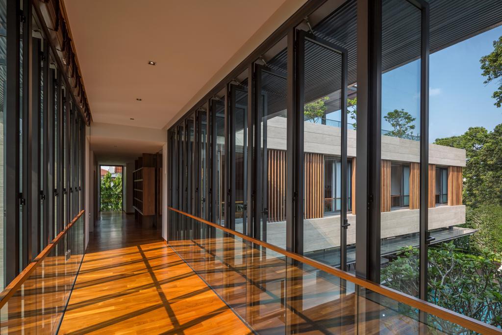 Contemporary, Landed, Secret Garden House (Bukit Timah), Architect, Wallflower Architecture + Design, Flora, Jar, Plant, Potted Plant, Pottery, Vase, Floor