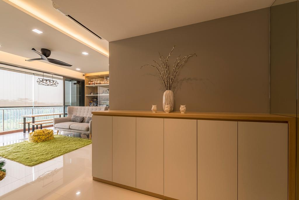 Minimalistic, Condo, Living Room, Sky Park Residences, Interior Designer, Summit Design Studio, Indoors, Interior Design