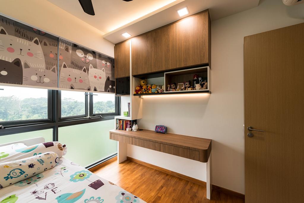 Minimalistic, Condo, Bedroom, Sky Park Residences, Interior Designer, Summit Design Studio, Indoors, Interior Design