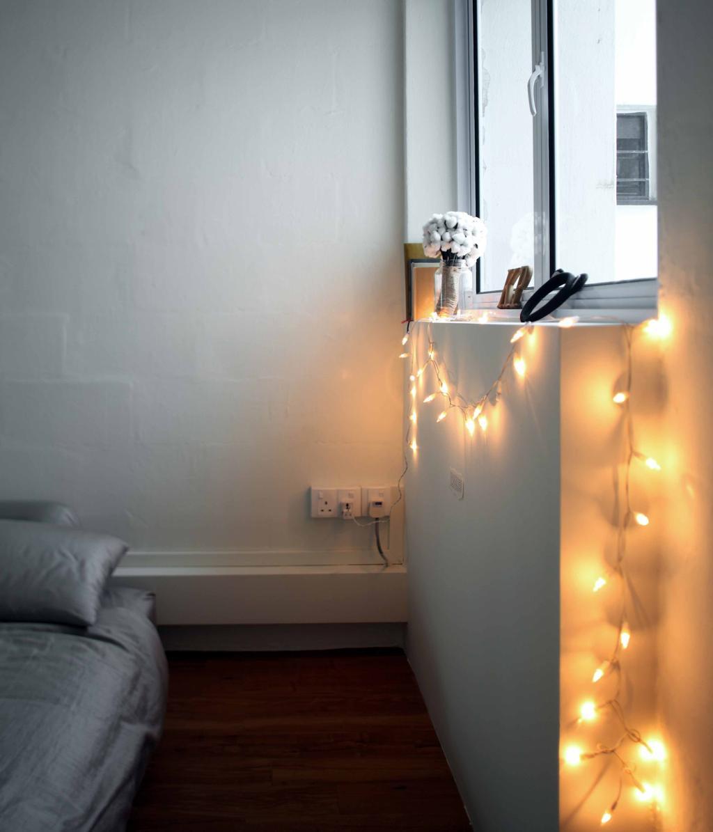 Scandinavian, HDB, Bedroom, Telok Blangah Heights (Block 60), Interior Designer, Space Concepts Design, Building, Housing, Indoors, Electrical Device, Electrical Outlet