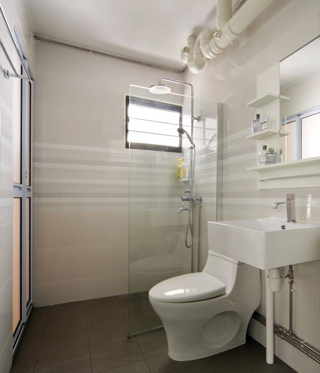 Modern, HDB, Bathroom, Segar Road (Block 465), Interior Designer, Space Concepts Design, Indoors, Interior Design, Room