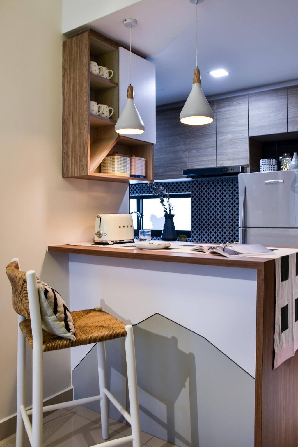 Modern, Condo, Dining Room, The Mezzo, Interior Designer, DISTINCTidENTITY, Scandinavian