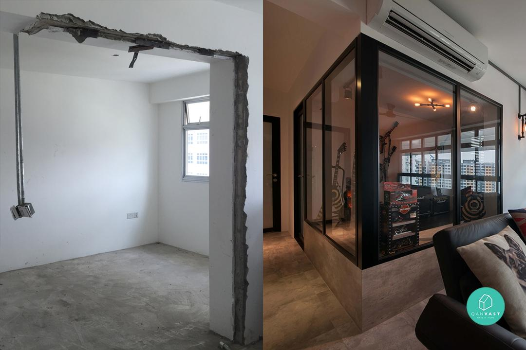 5 Must-See Before and After HDB Renovations! 40