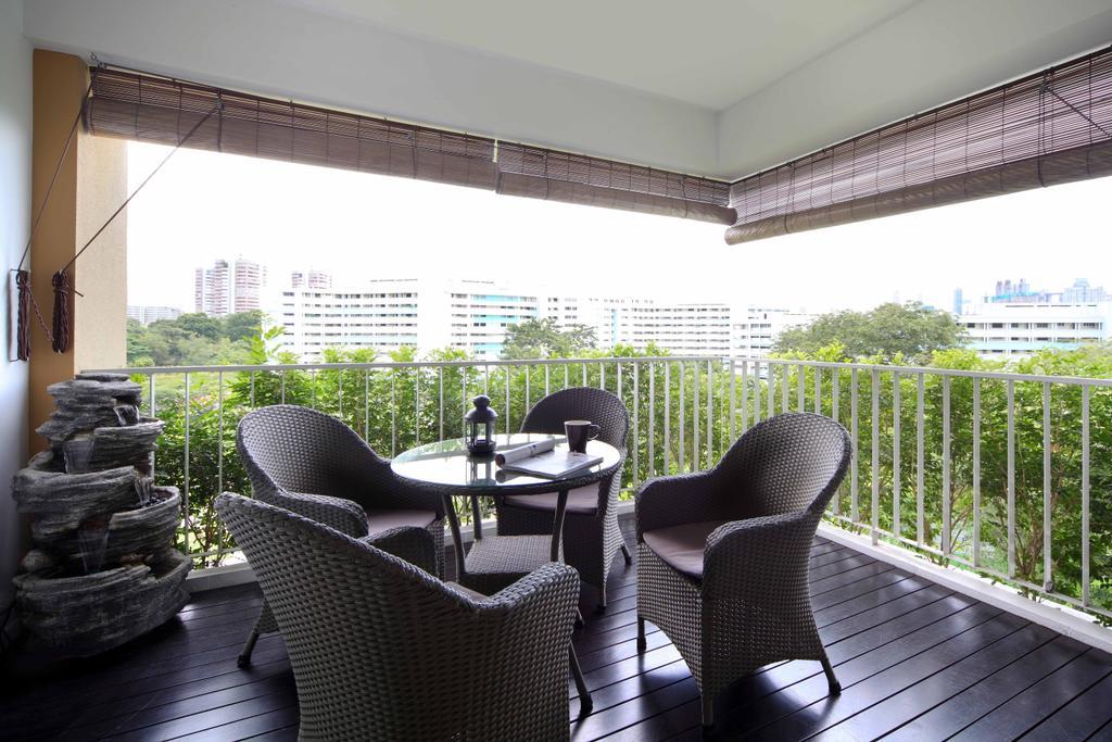 Contemporary, Condo, Balcony, The Pearl Condo, Interior Designer, Space Concepts Design, Chair, Furniture, Porch