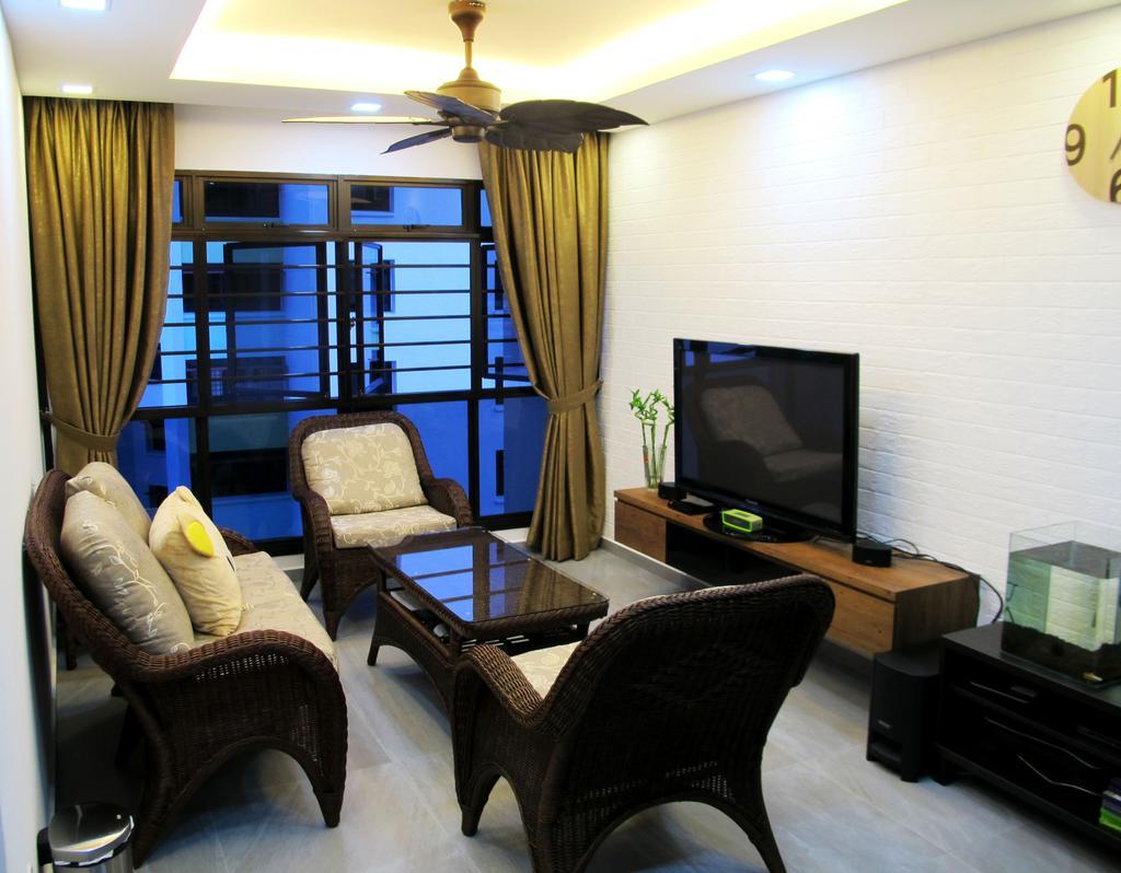 Modern, HDB, Living Room, Clementi Avenue 3, Interior Designer, Colourbox Interior, Chair, Furniture, Bench, Couch