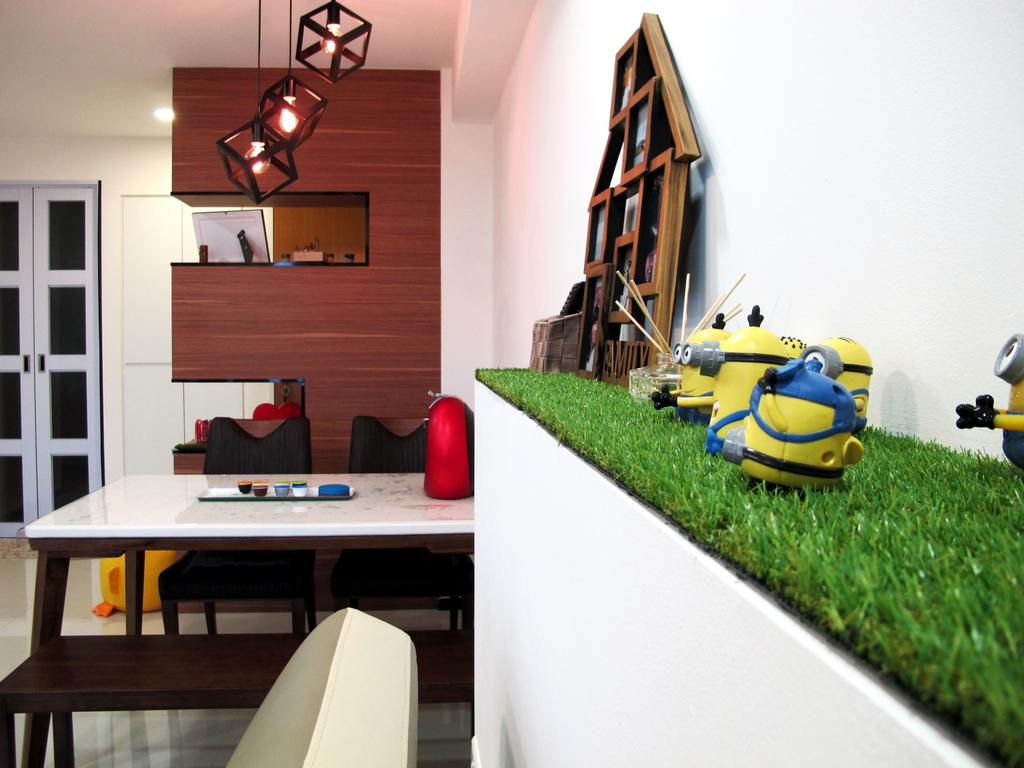 Scandinavian, HDB, Living Room, Punggol Waterway Terraces, Interior Designer, Colourbox Interior, Indoors, Interior Design, Chair, Furniture