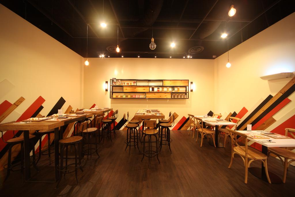 Cool Bistro at Suntec, Commercial, Interior Designer, Space Concepts Design, Industrial, Chair, Furniture, Conference Room, Indoors, Meeting Room, Room, Cafe, Restaurant