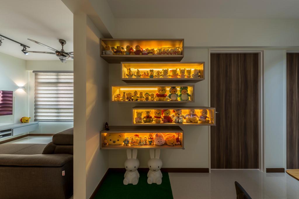 Modern, HDB, Living Room, Upper Serangoon Road, Interior Designer, Charlotte's Carpentry, Scandinavian