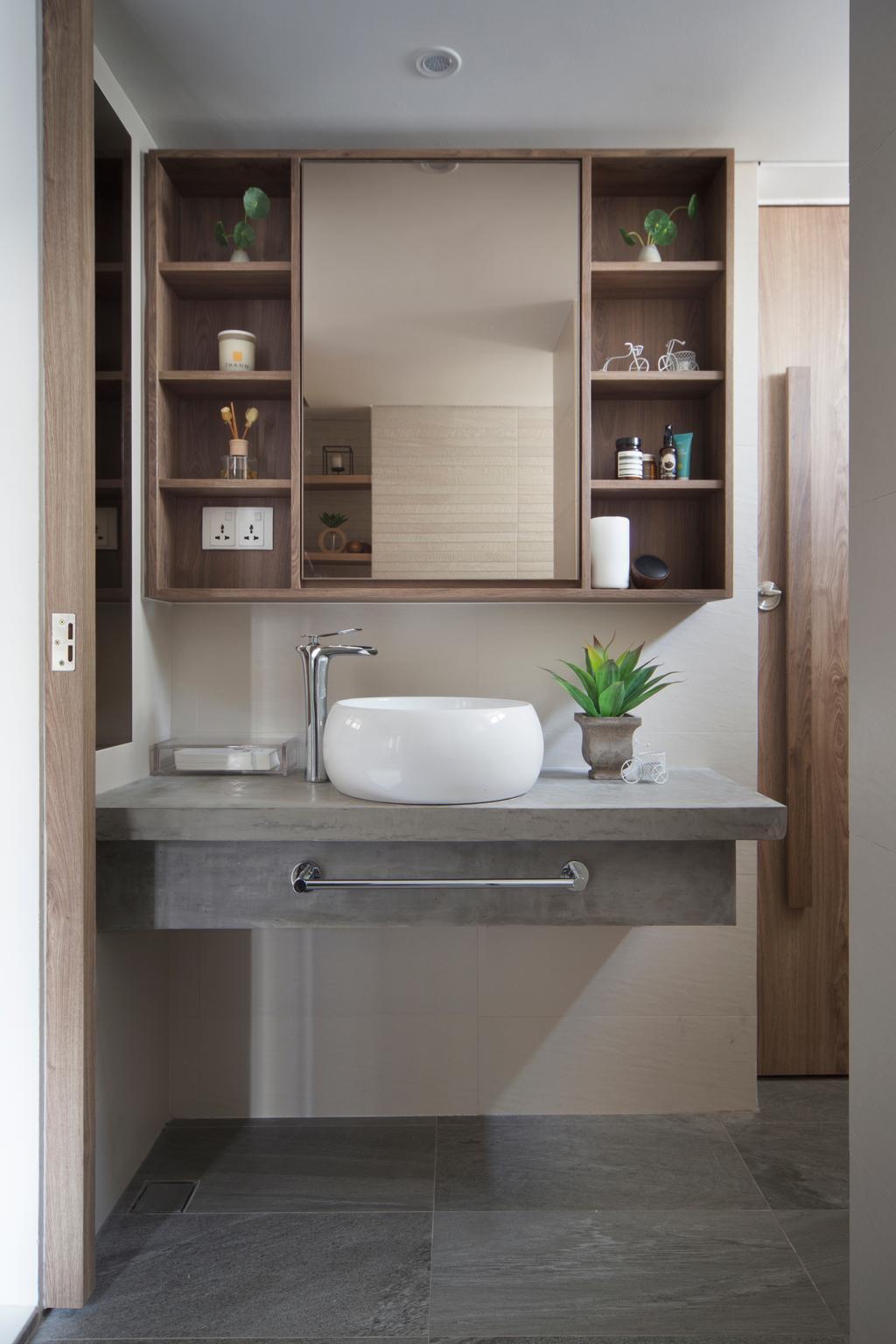 Minimalistic, HDB, Marine Terrace, Interior Designer, Prozfile Design, Scandinavian, Indoors, Interior Design