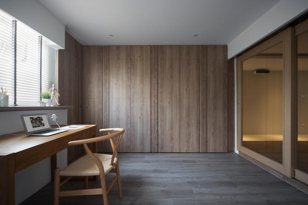 Minimalistic, HDB, Marine Terrace, Interior Designer, Prozfile Design, Scandinavian, Chair, Furniture