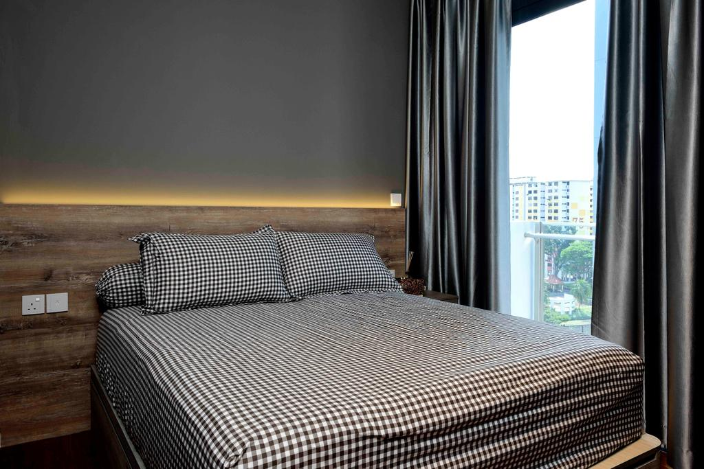 Scandinavian, Condo, Bedroom, Urban Vista, Interior Designer, Aart Boxx Interior, Indoors, Interior Design, Room