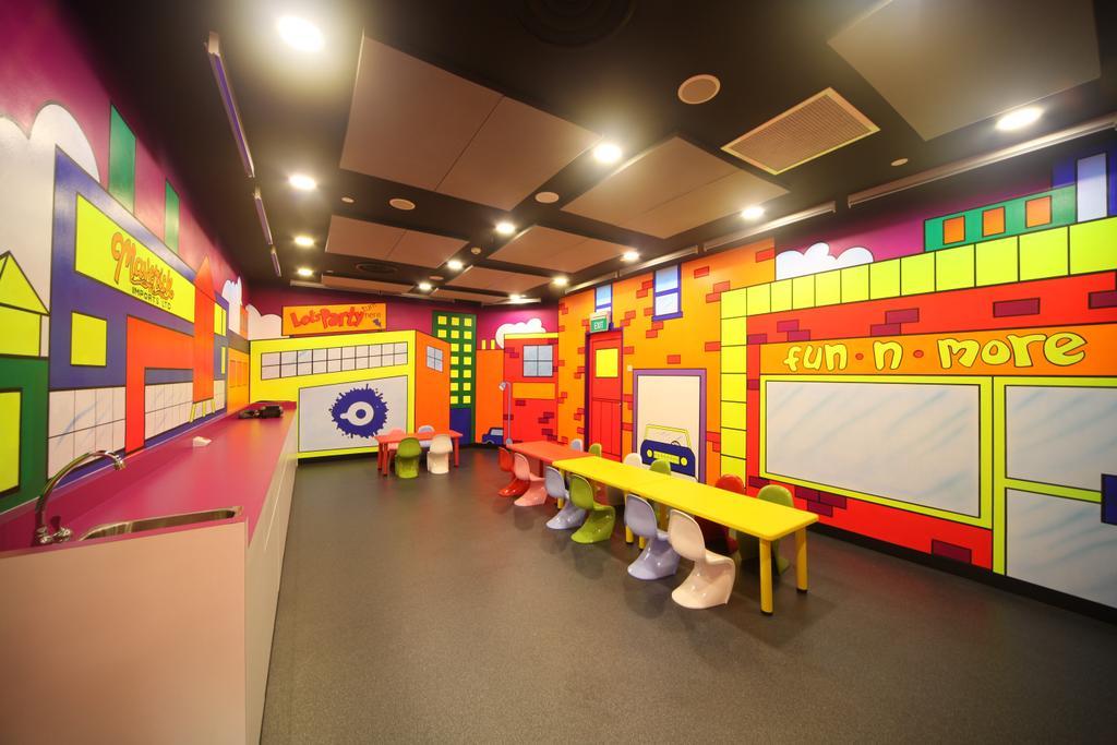 Cool De Sac, Commercial, Interior Designer, Space Concepts Design, Eclectic, Lighting