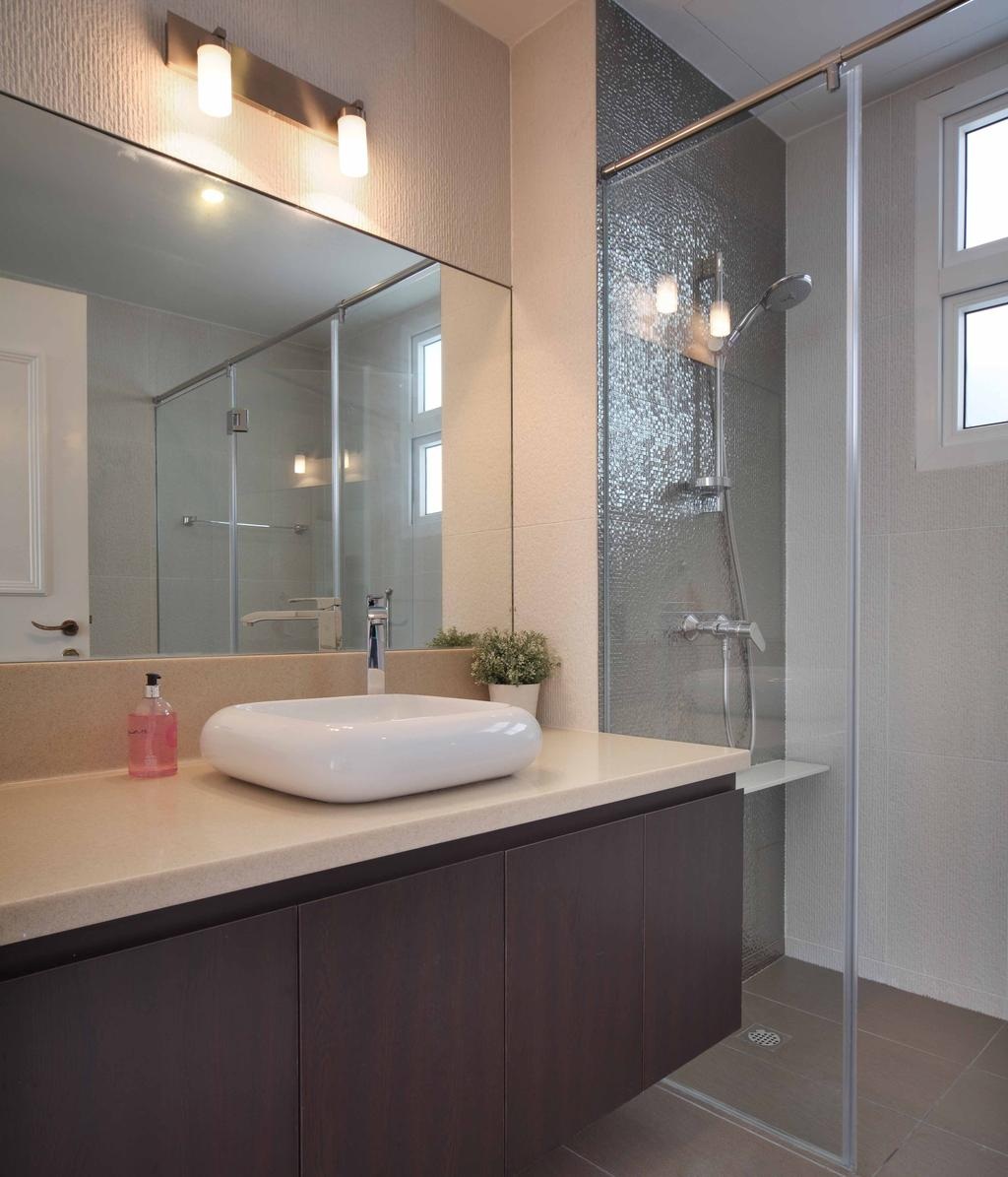 Contemporary, Landed, Bathroom, Kew Avenue, Interior Designer, Space Concepts Design, Indoors, Interior Design, Room