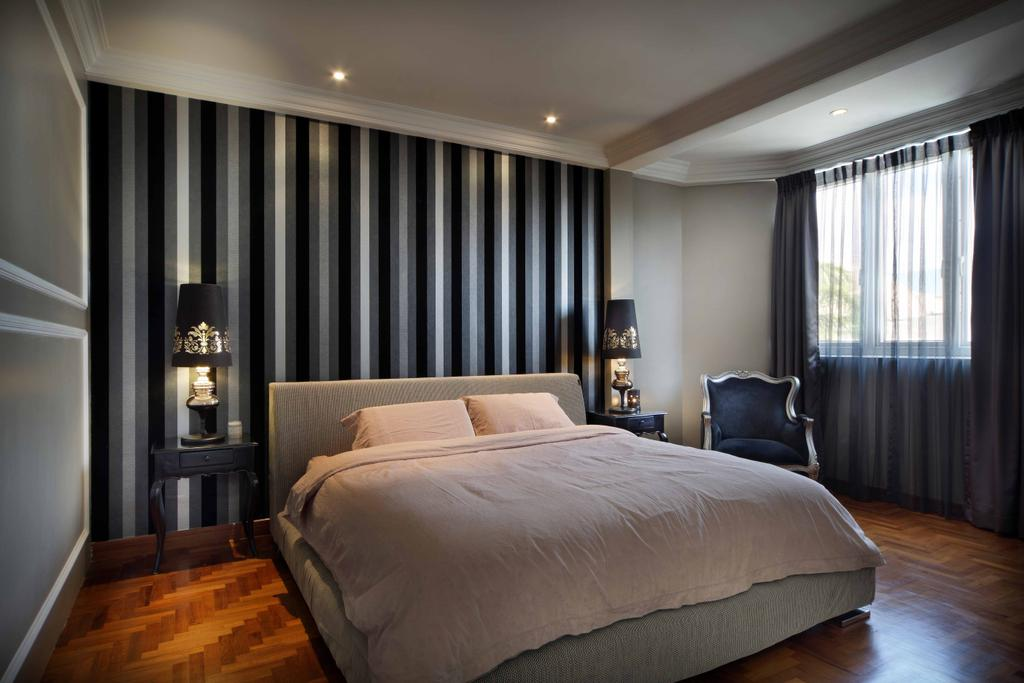 Contemporary, Landed, Bedroom, Kew Avenue, Interior Designer, Space Concepts Design, Couch, Furniture, Indoors, Room, Interior Design, Bed