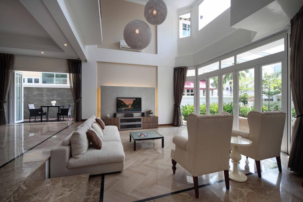 Contemporary, Landed, Living Room, Kew Avenue, Interior Designer, Space Concepts Design, Chair, Furniture, Window, Couch, Dining Room, Indoors, Interior Design, Room