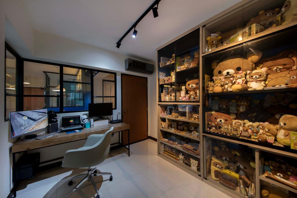 Scandinavian, HDB, Study, Edgedale Plains (Block 122A), Interior Designer, Aart Boxx Interior, Industrial, Sink