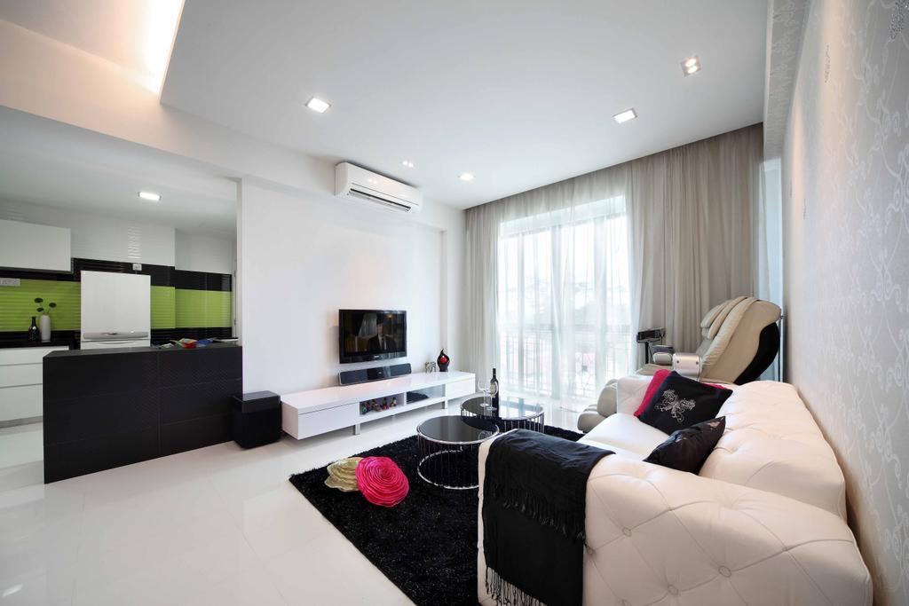 Contemporary, Condo, Living Room, Springdale, Interior Designer, Space Concepts Design, Lighting, Indoors, Room