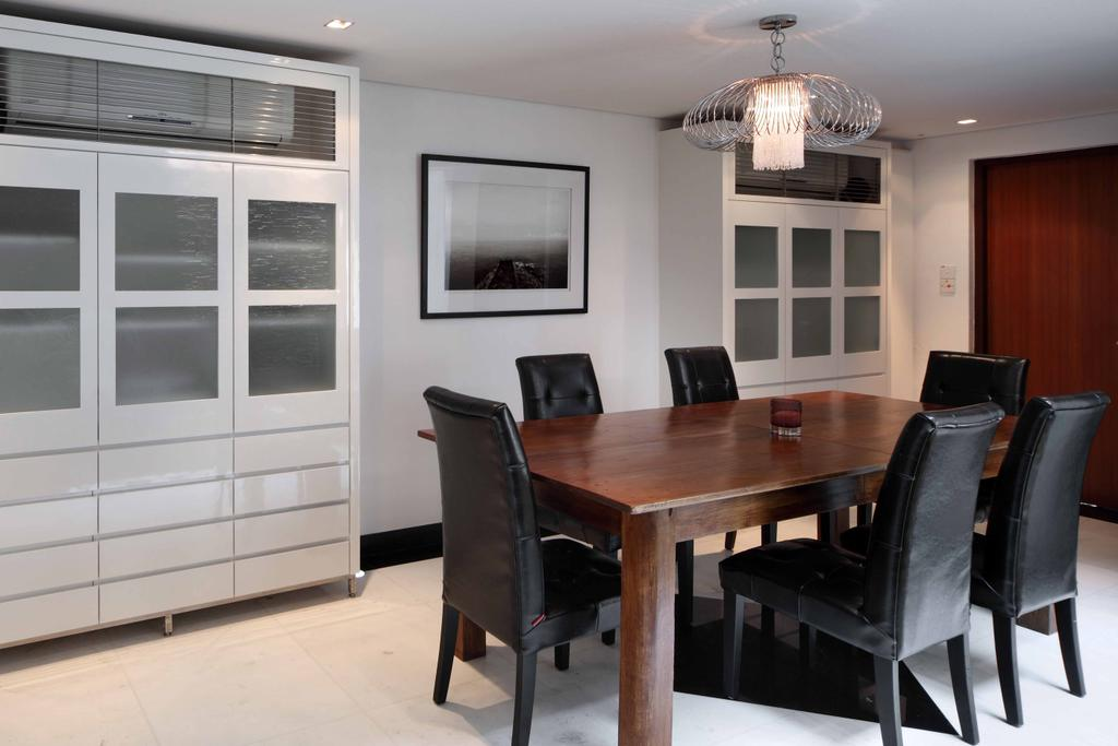 Contemporary, Landed, Dining Room, Everton Shophouse, Interior Designer, Space Concepts Design, Chair, Furniture, Dining Table, Table, Indoors, Interior Design, Room