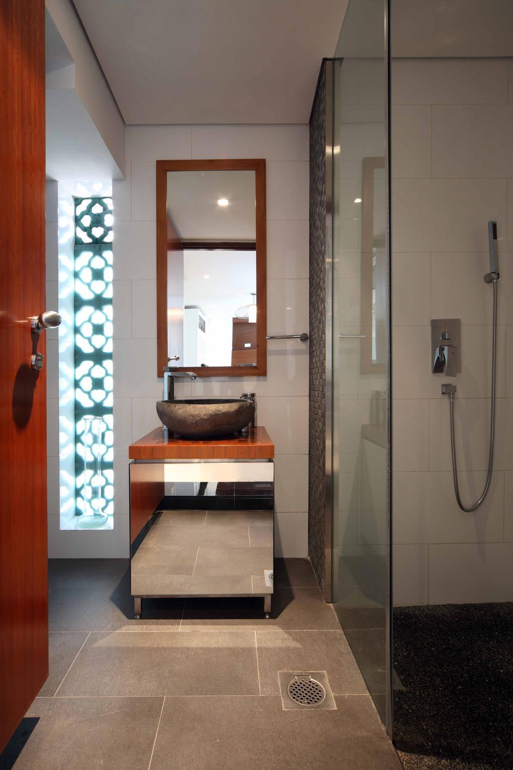 Contemporary, Landed, Bathroom, Everton Shophouse, Interior Designer, Space Concepts Design