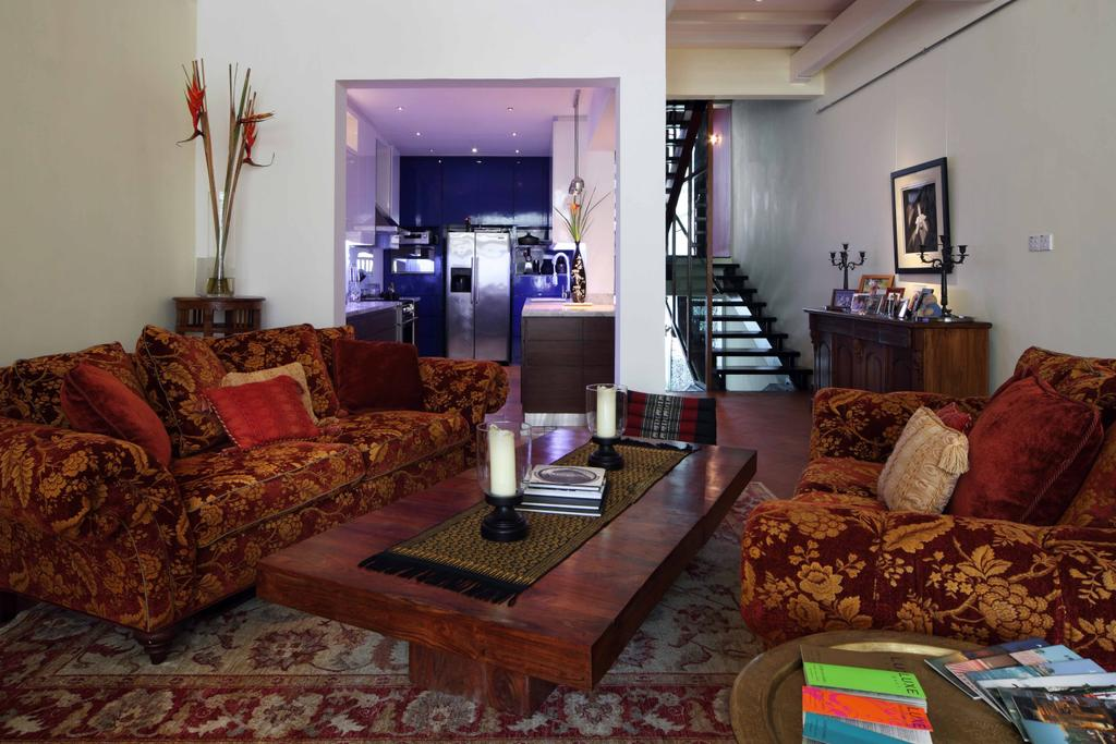 Contemporary, Landed, Living Room, Everton Shophouse, Interior Designer, Space Concepts Design, Couch, Furniture, Indoors, Interior Design, Room
