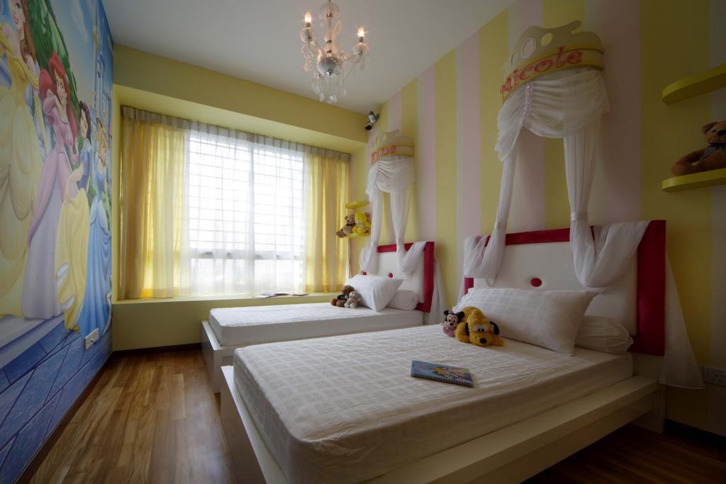 Contemporary, Condo, Bedroom, Mount Sinai, Interior Designer, Space Concepts Design, Indoors, Interior Design, Room