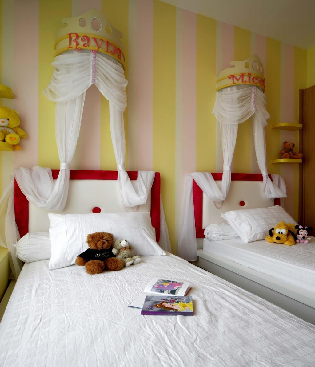 Contemporary, Condo, Bedroom, Mount Sinai, Interior Designer, Space Concepts Design, Teddy Bear, Toy, Bed, Furniture