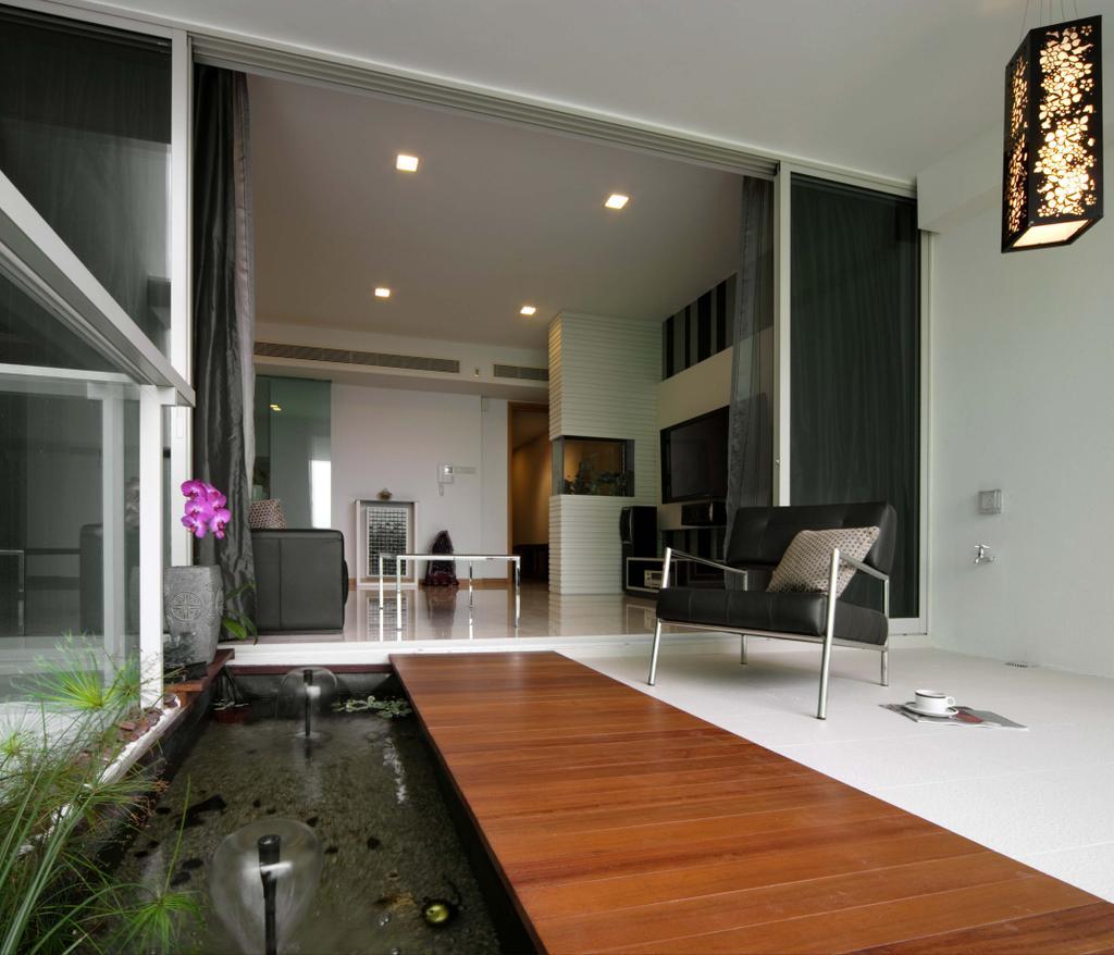 Contemporary, Condo, Balcony, Mount Sinai, Interior Designer, Space Concepts Design, Chair, Furniture, Flooring, Indoors, Interior Design